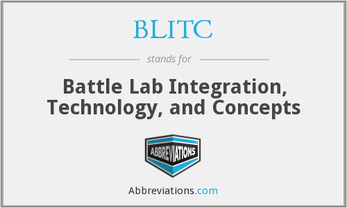 What does BLITC stand for?