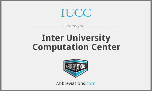 What does IUCC stand for?