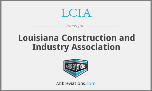 What does LCIA stand for?
