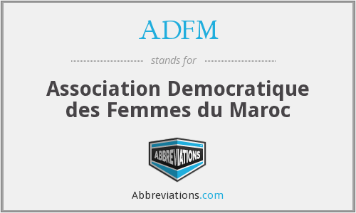 What does ADFM stand for?
