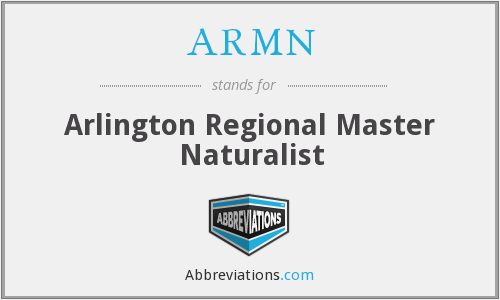 What does ARMN stand for?
