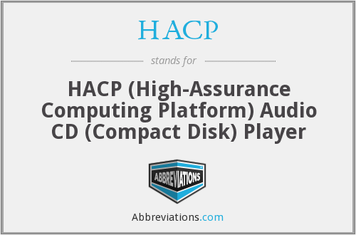 What does HACP stand for?
