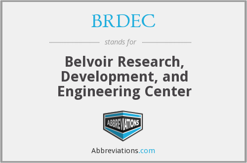 What does BRDEC stand for?