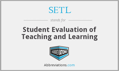 What does SETL stand for?