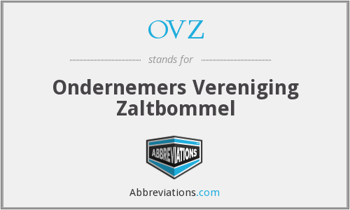 What does OVZ stand for?