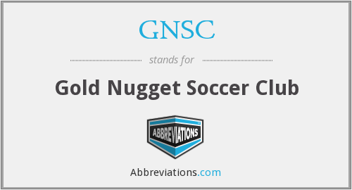 What does GNSC stand for?