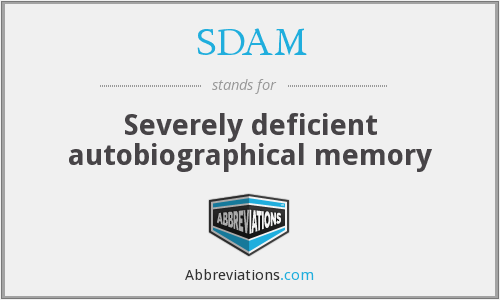 What does SDAM stand for?