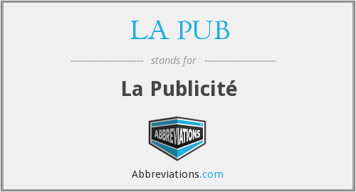What does LA PUB stand for?