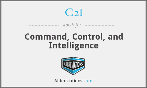 What does C2I stand for?