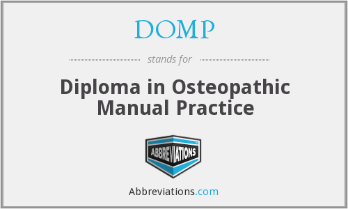 What does DOMP stand for?
