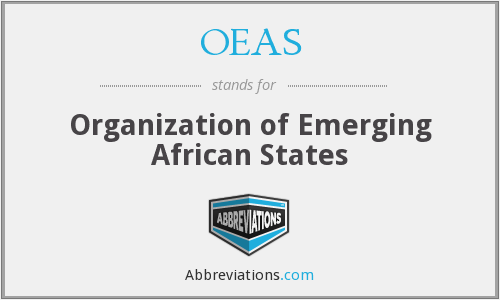 What does OEAS stand for?