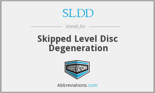 What does SLDD stand for?