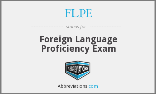 What does FLPE stand for?
