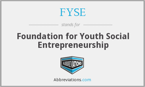 What does FYSE stand for?