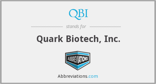 What does QBI stand for?
