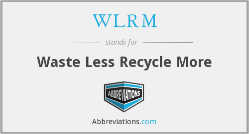 What does WLRM stand for?