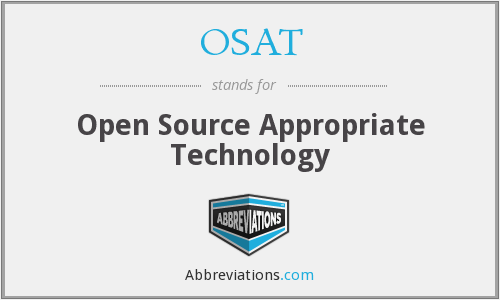 What does OSAT stand for?
