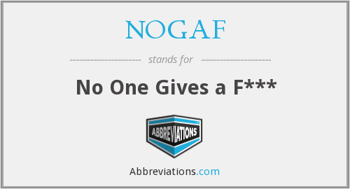 What does NOGAF stand for?