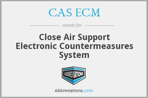 What does CAS ECM stand for?