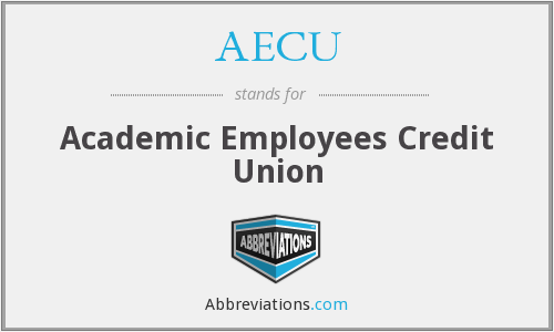 What does AECU stand for?
