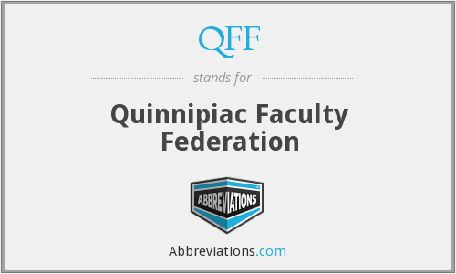 What does QFF stand for?