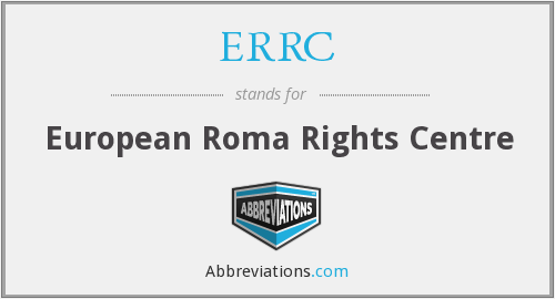 What does ERRC stand for?