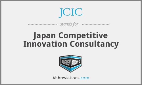 What does JCIC stand for?