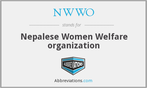 What does NWWO stand for?