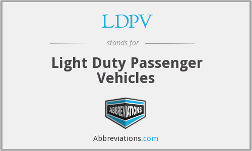 What does LDPV stand for?