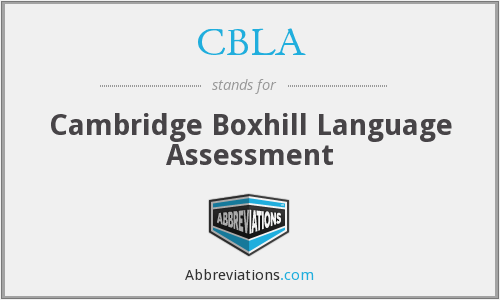 What does CBLA stand for?