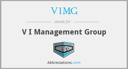 What does VIMG stand for?