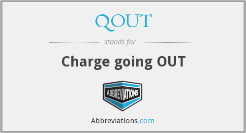 What does QOUT stand for?