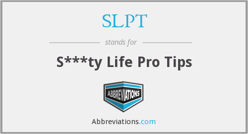 What does SLPT stand for?