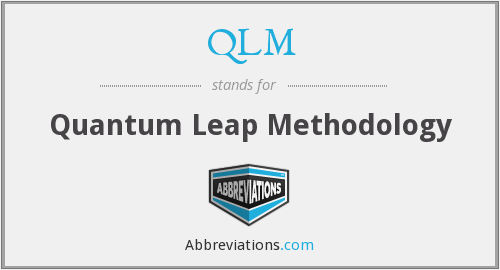 What does QLM stand for?