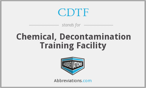 What does CDTF stand for?