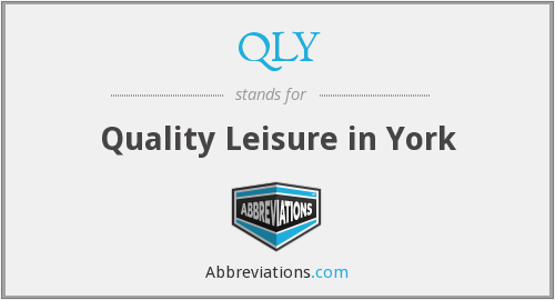 What does QLY stand for?
