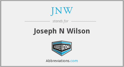 What does JNW stand for?