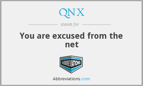 What does QNX stand for?