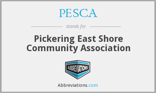 What does PESCA stand for?