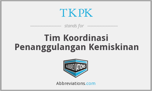 What does TKPK stand for?