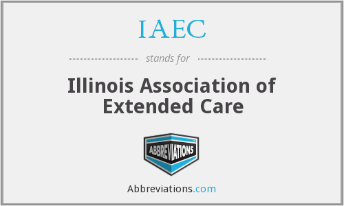 What does IAEC stand for?