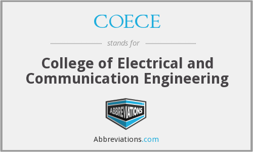 What does COECE stand for?