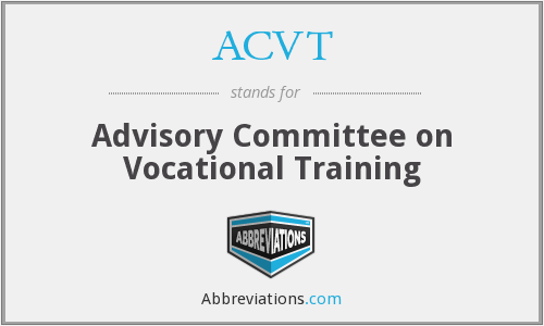 What does ACVT stand for?