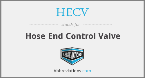 What does HECV stand for?