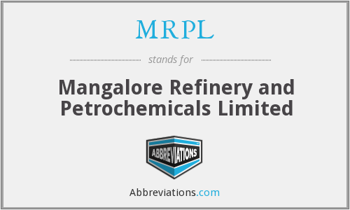 What does MRPL stand for?