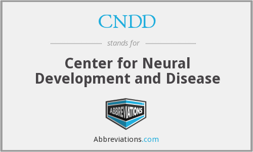 What does CNDD stand for?