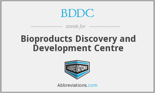 What does BDDC stand for?