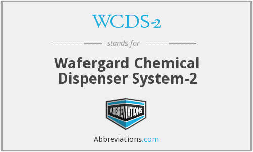 What does WCDS-2 stand for?