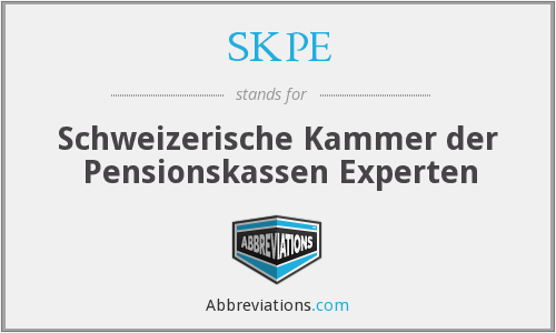 What does SKPE stand for?