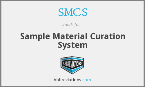 What does SMCS stand for?